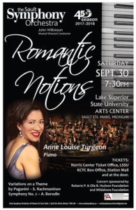 Sault Symphony Romantic Nights