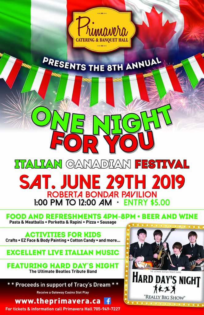 One for you Italian Canadian Festival
