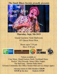 Johnny Max Band Poster