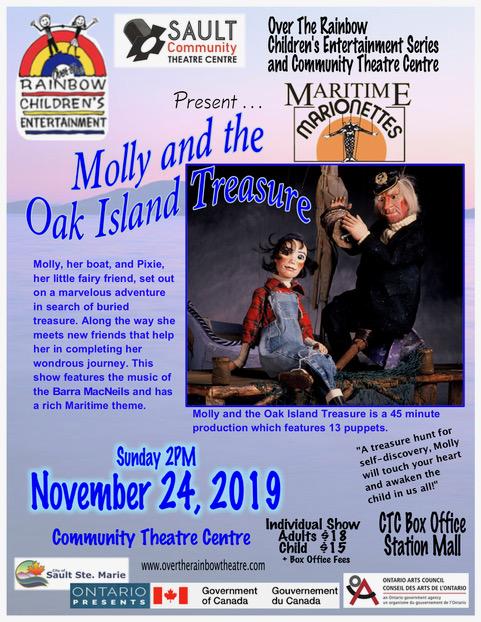 Over the Rainbow – Molly and the Oak Island Treasure
